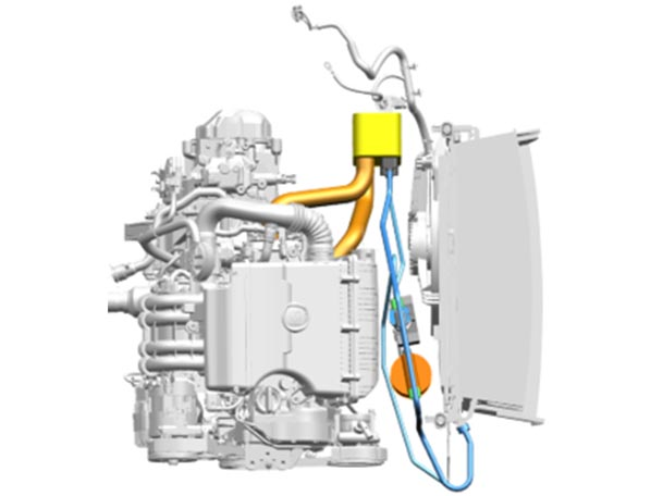 RePG Electric Vehicle Waste Heat Recovery Scheme