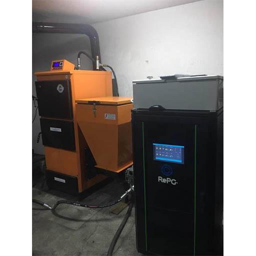 RePG Pellet Boiler