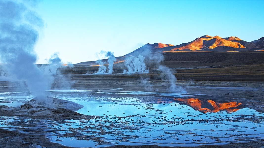 Geyser Field Geothermal Energy