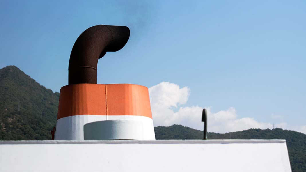 Ship Exhaust Chimney